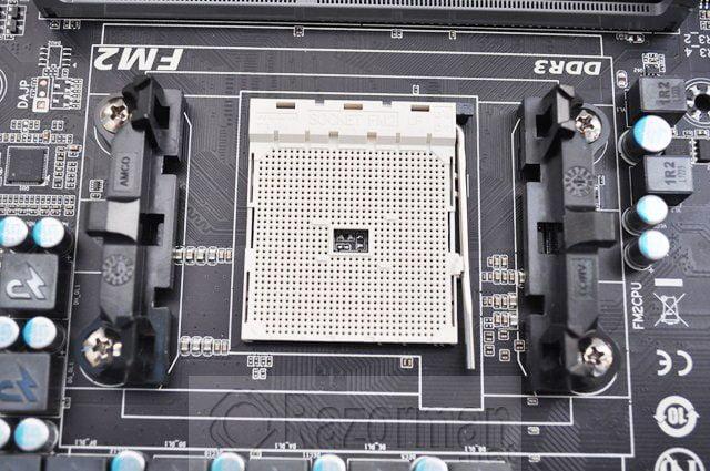 Review Gigabyte GA-F2A85X-UP4 y APU AMD A10 5800K 35
