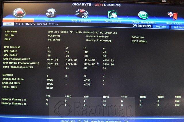 Review Gigabyte GA-F2A85X-UP4 y APU AMD A10 5800K 51