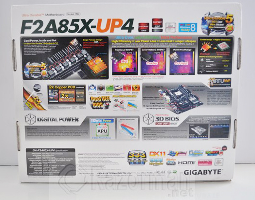 Review Gigabyte GA-F2A85X-UP4 y APU AMD A10 5800K 19