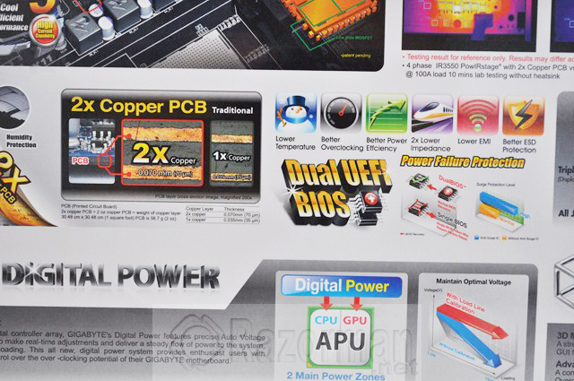 Review Gigabyte GA-F2A85X-UP4 y APU AMD A10 5800K 21