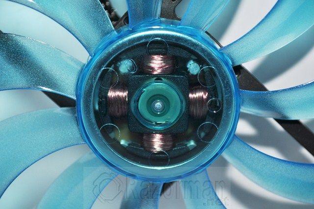 Review Gelid Slim 12 UV Blue 13