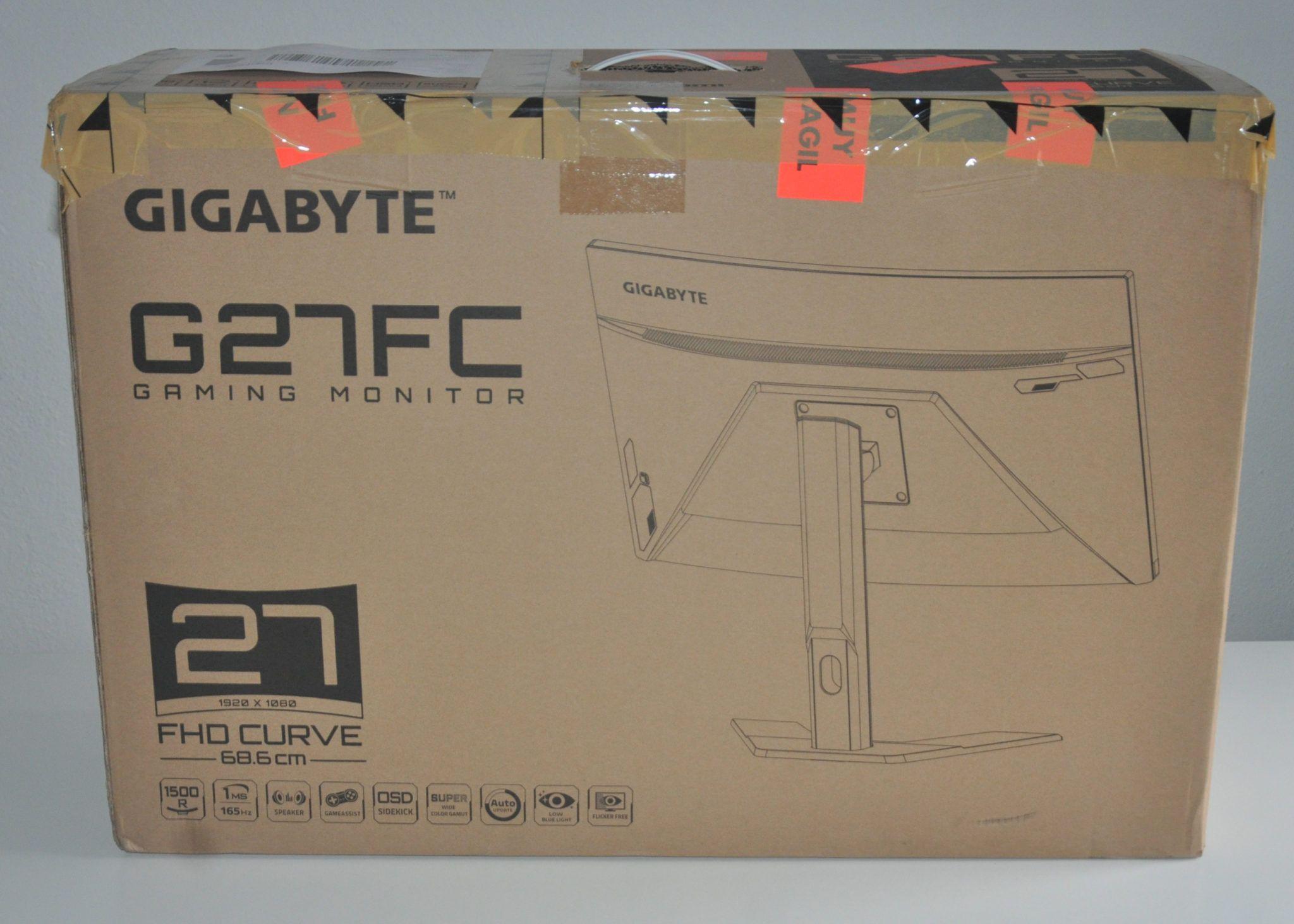 Review Gigabyte G27FC 2