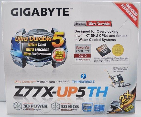 Review Placa Base Gigabyte Z77X-UP5TH 20