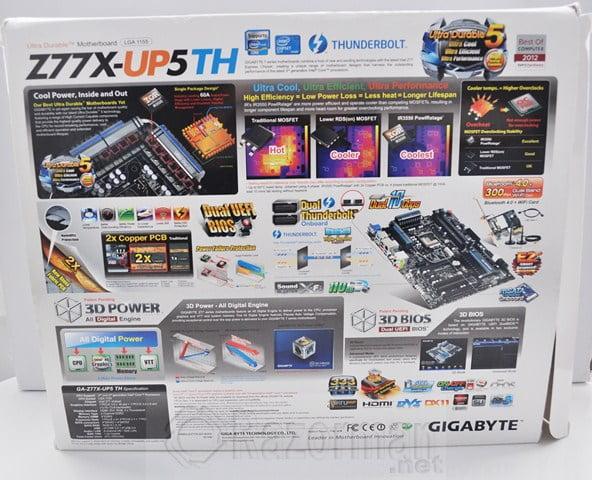 Review Placa Base Gigabyte Z77X-UP5TH 21