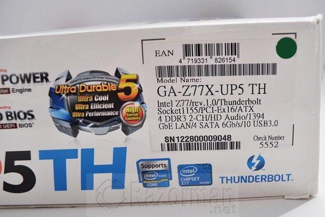 Review Placa Base Gigabyte Z77X-UP5TH 24