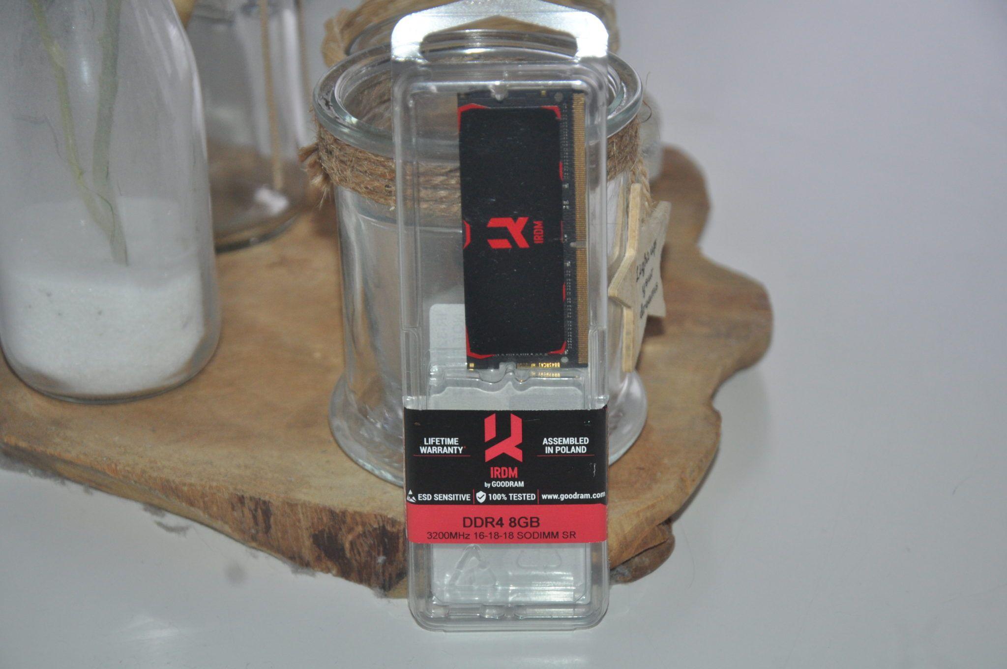 Review GoodRam IRDM DDR4 SODIMM 3200 Mhz 3