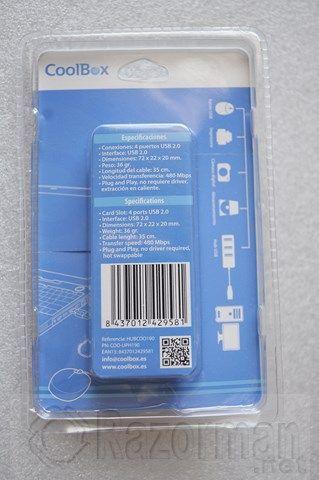 HUB COOLBOX USB 2.0 4 PUERTOS (2)