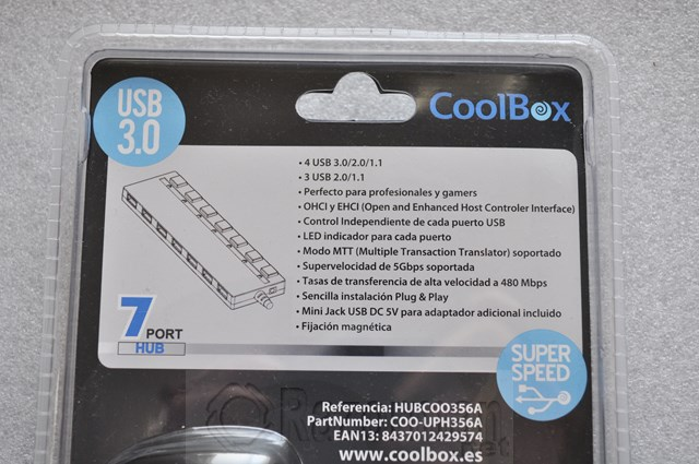 HUB Coolbox USB 3.0 7 puertos (4)