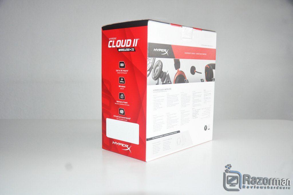 Review HyperX Cloud II Wireless 7.1 2