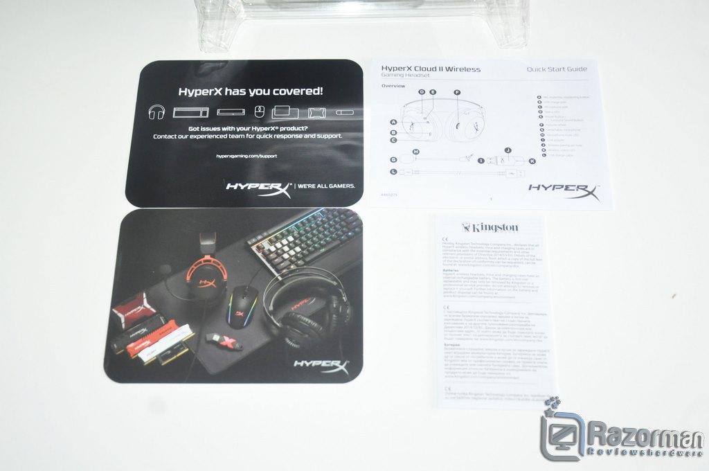 Review HyperX Cloud II Wireless 7.1 4