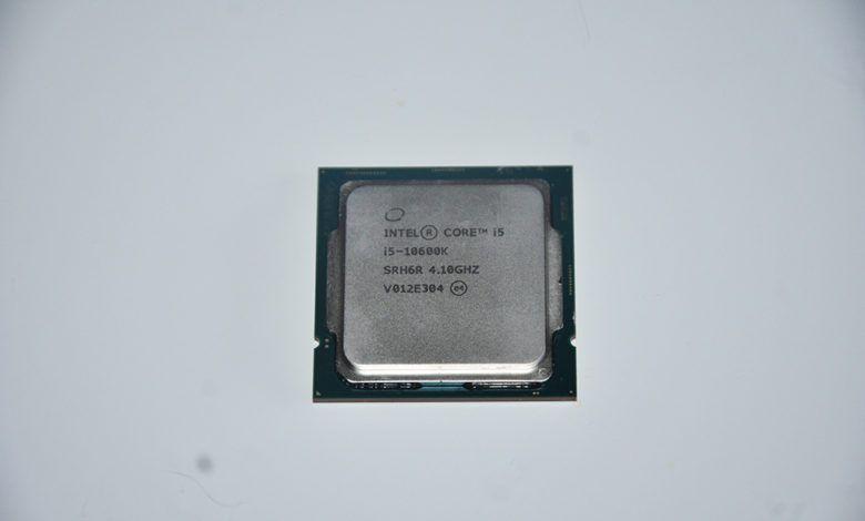 Review Intel Core i5-10600K 1