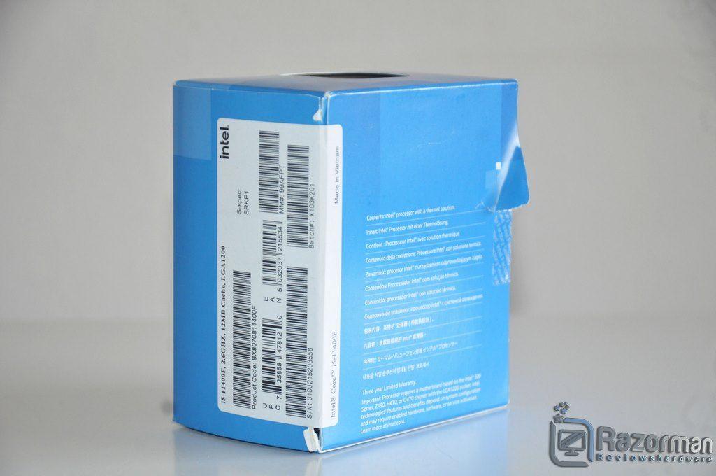 Review Intel Core i5 11400F 2
