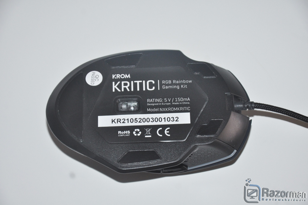 Review KROM Kritic 35