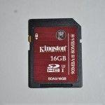 Review Kingston SDHC/SDXC UHS-I U3 16 Gb