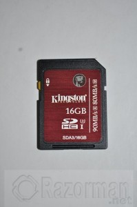 Kingston SDHCSDXC UHS-I U3 16 Gb (6)
