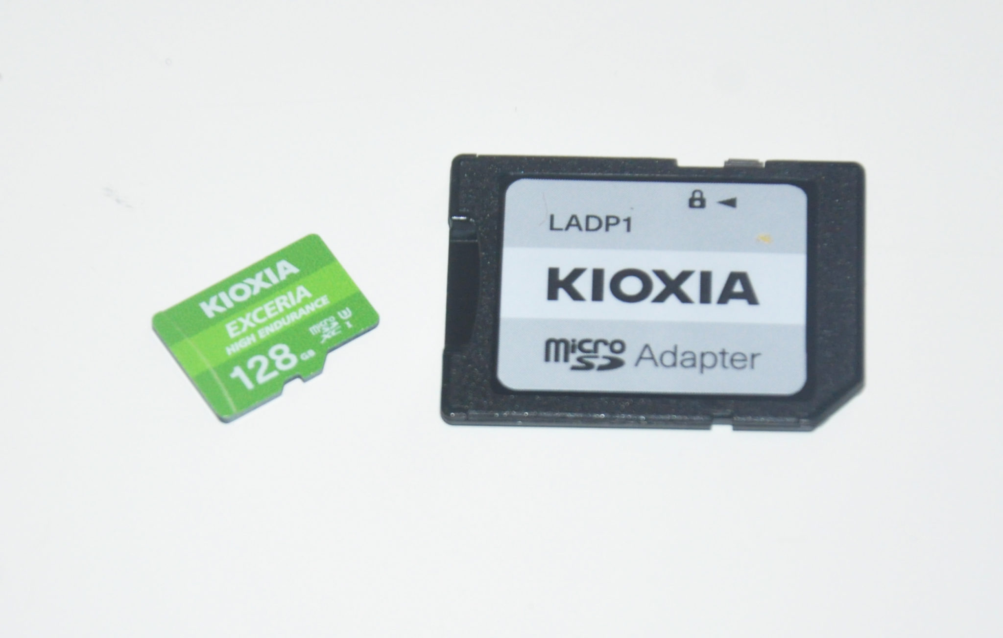 Review Kioxia Exceria High Endurance 128 GB 3