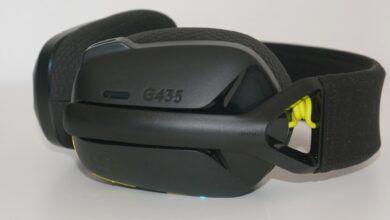 Review Logitech G435 94