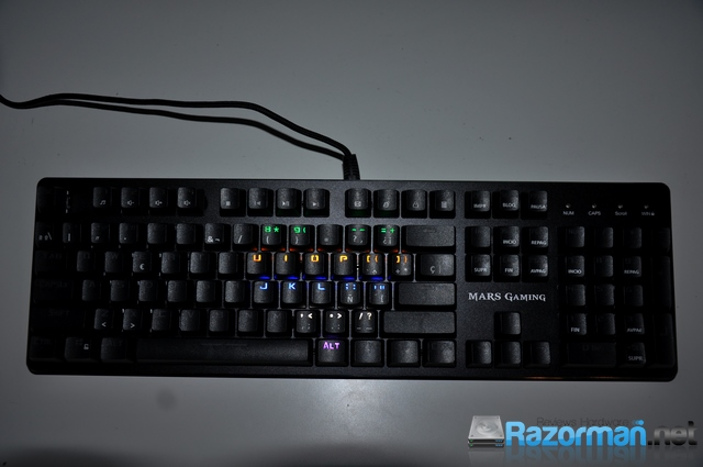 Review Mars Gaming MK4 30