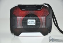 Review Mars Gaming MSBAX 91