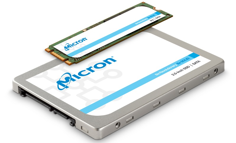 Photo of SSD Micron series 1300