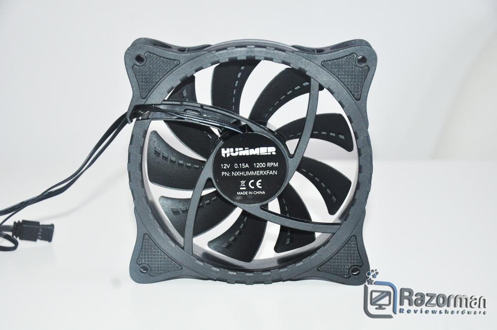 Review NOX Hummer X-Fan 6