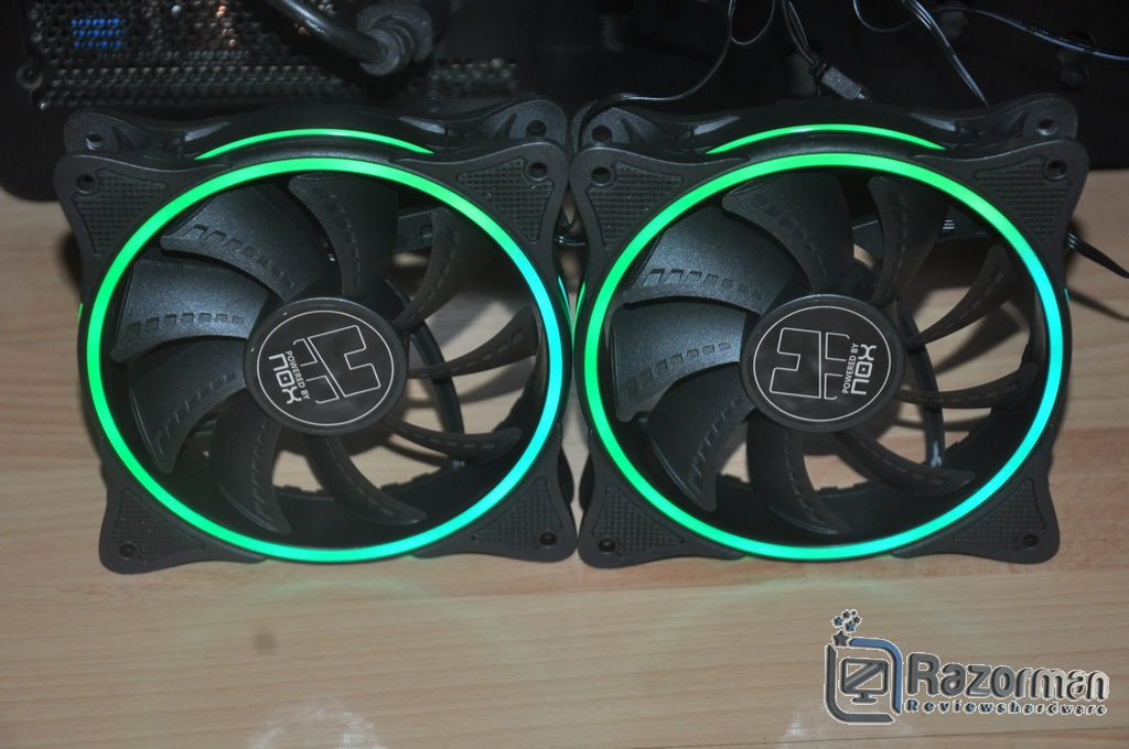 Review NOX Hummer X-Fan 11