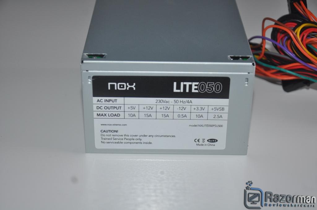 Review NOX Lite050 19