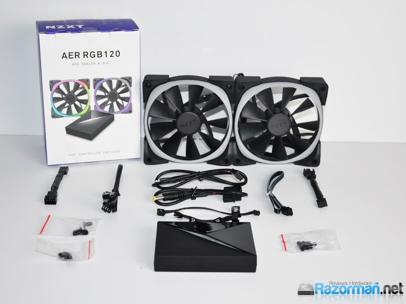 Photo of Review NZXT AER RGB120 + HUE