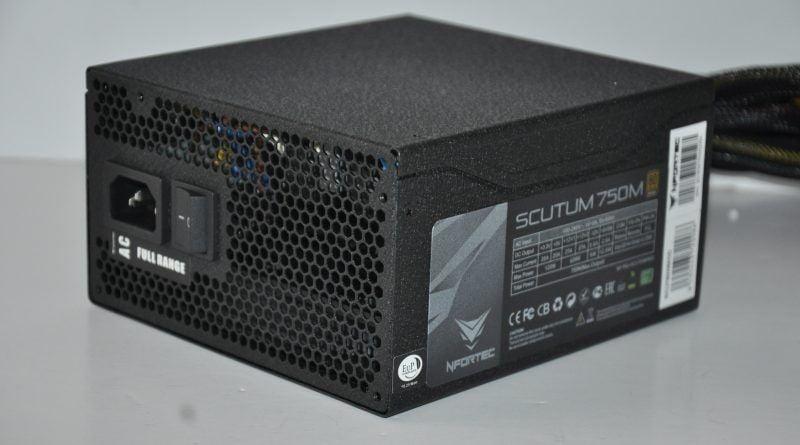 Review Nfortec Scutum 750M