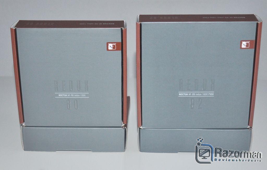 Review Noctua NF-R8 Redux 1200 y Noctua NF-B9 Redux-1600 PWM 1