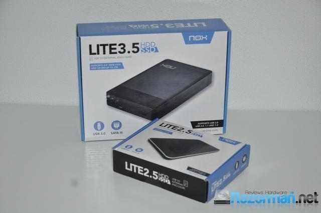 Review Nox Lite 3.5″ y 2.5″