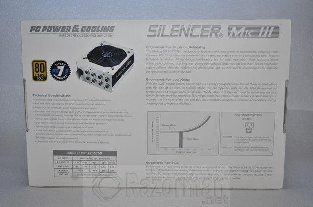 OCZ Silencer MK III 750W  (3)