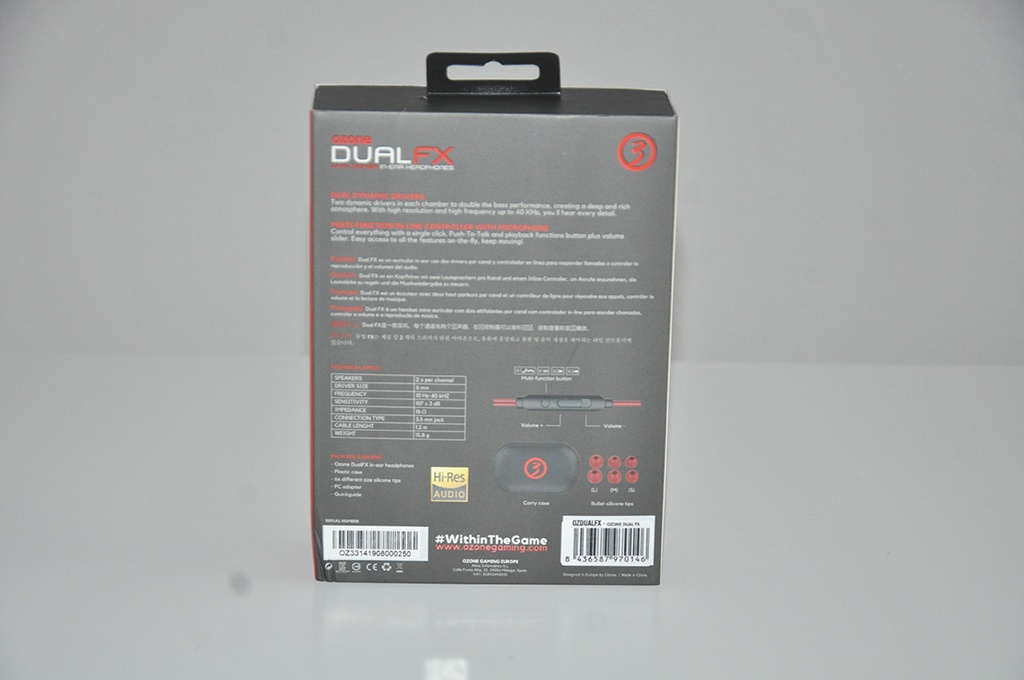 Review Ozone Dual FX 4