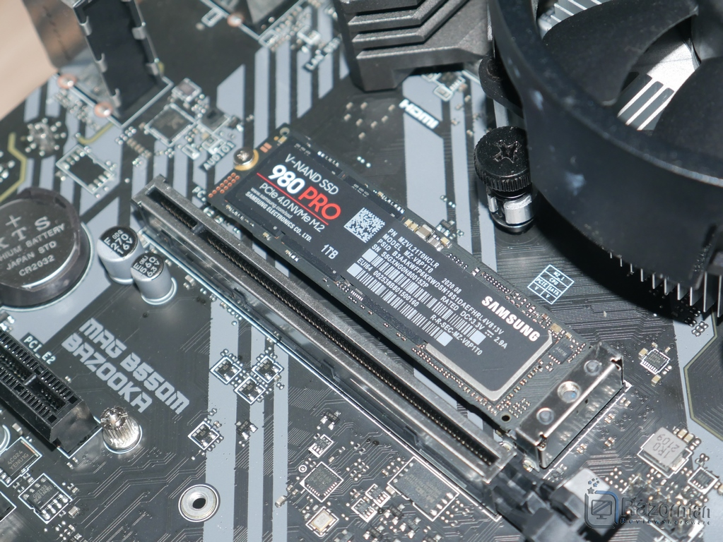 Review Samsung 980 Pro 18