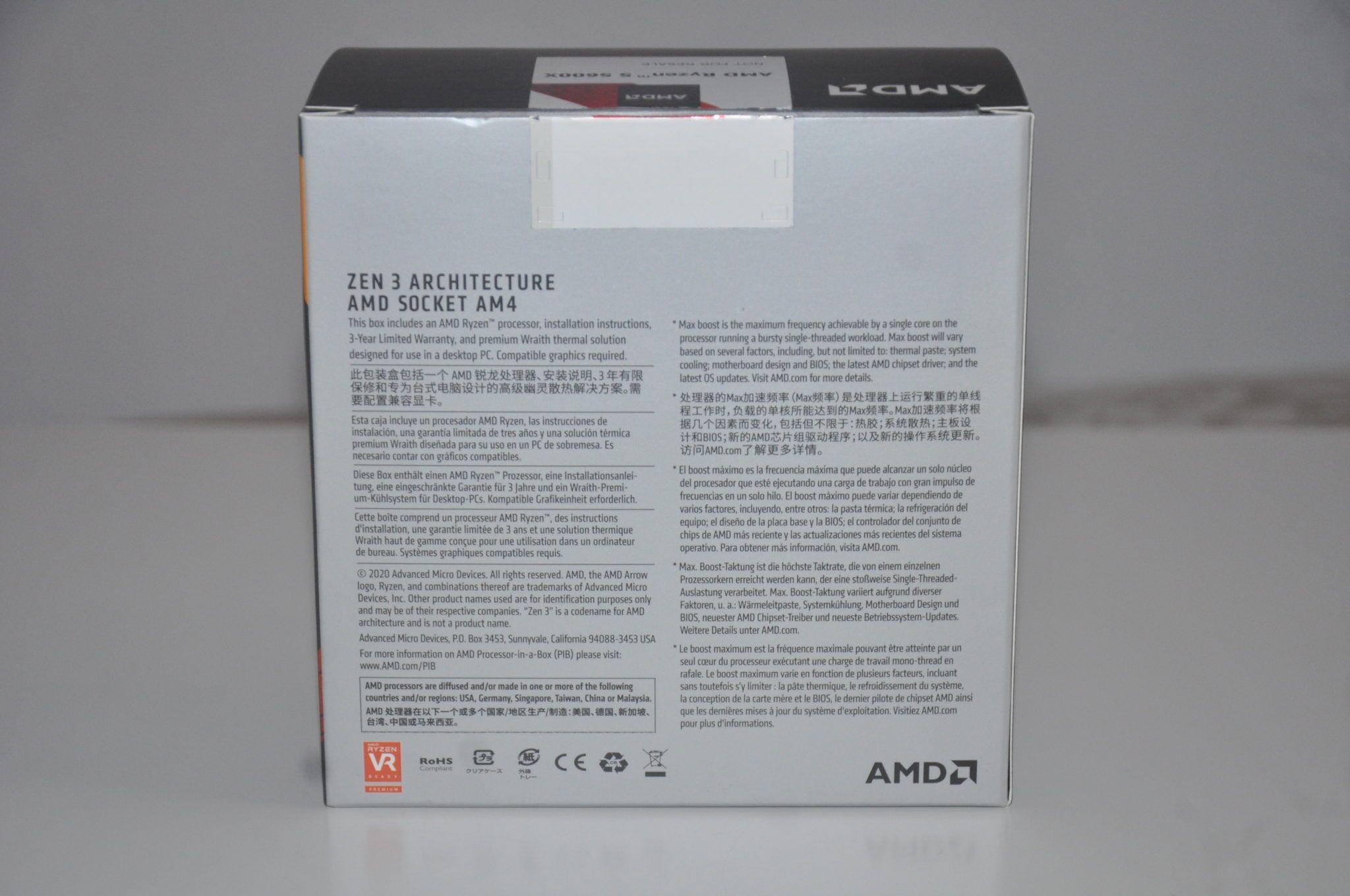 Review Ryzen 5 5600X 5