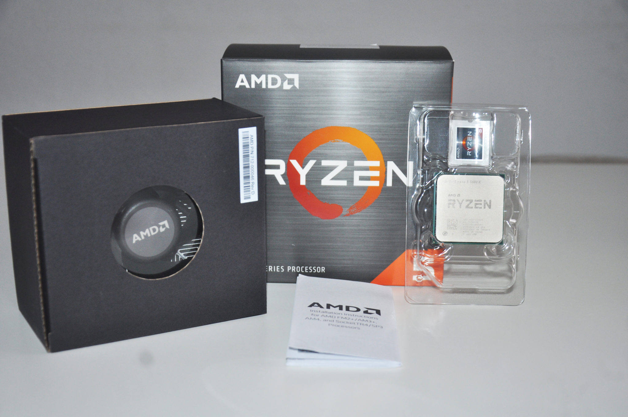 Review Ryzen 5 5600X 6