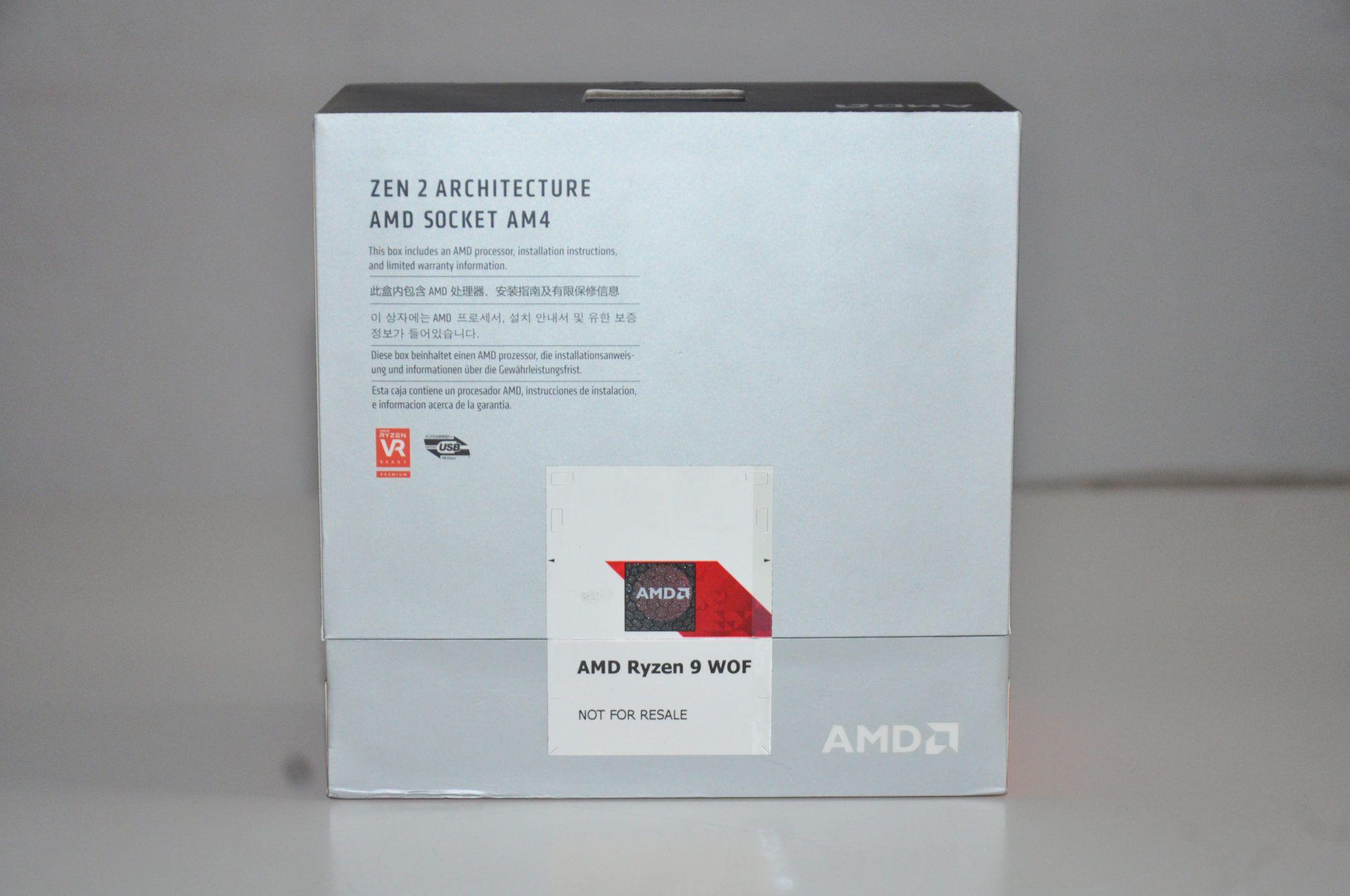 Review AMD Ryzen 9 3900XT 3