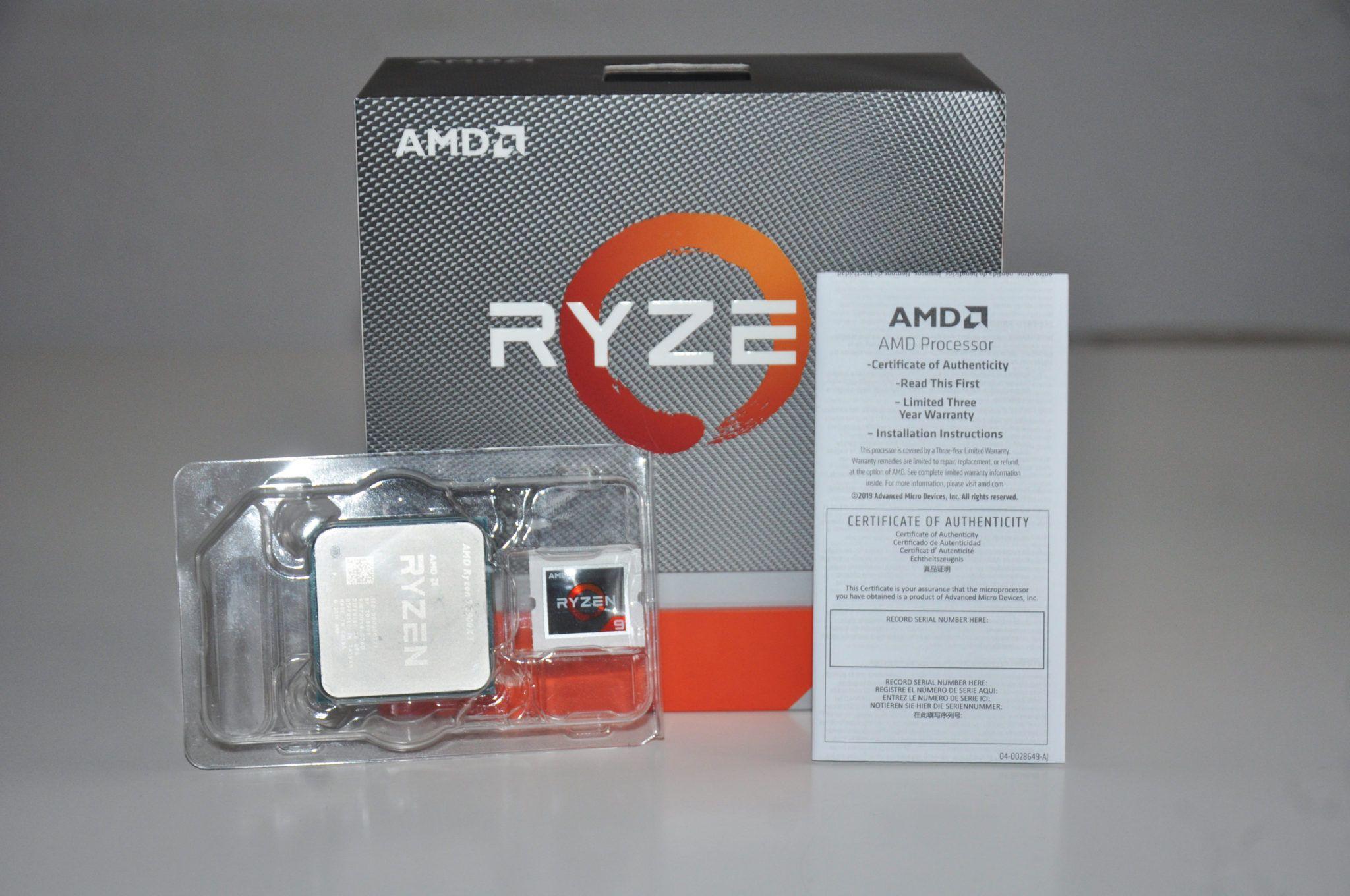 Review AMD Ryzen 9 3900XT 5