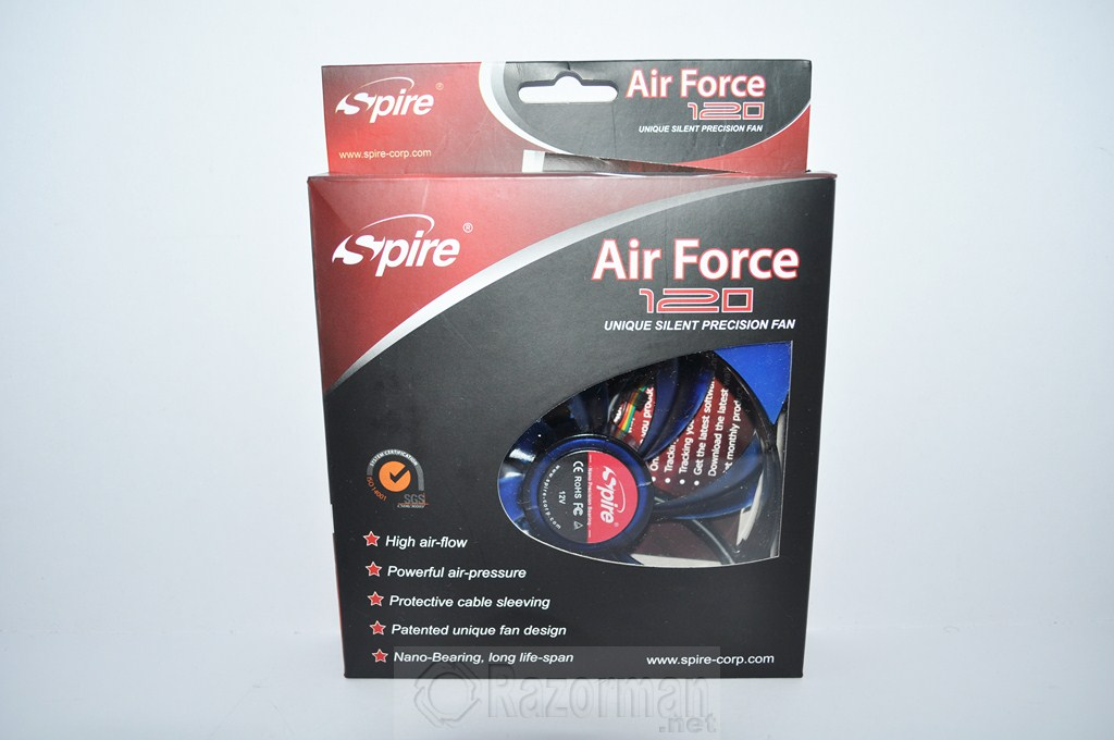 Review Spire Air Force 120 4