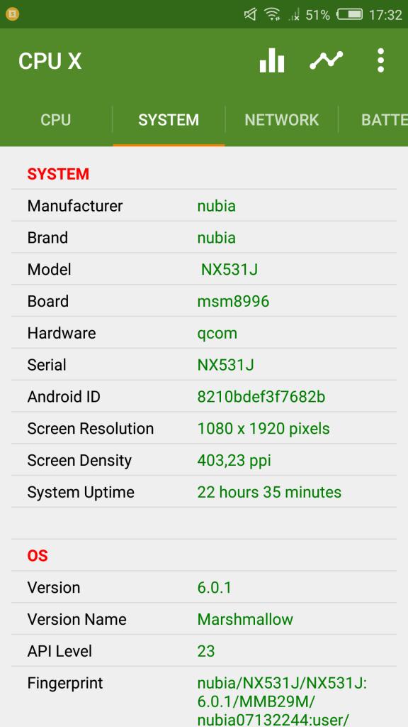 Review Nubia Z11 16