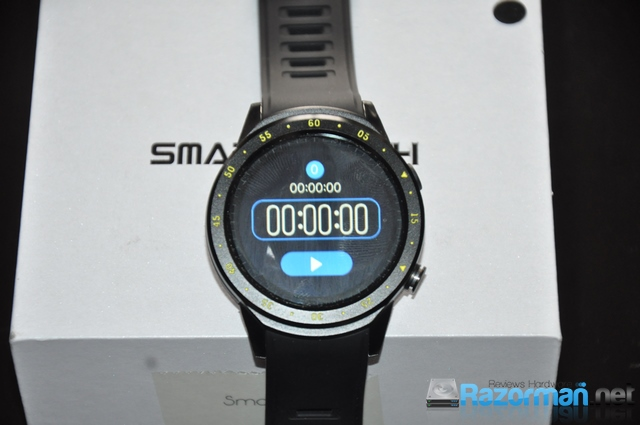Review smartwatch Bakeey F1 17