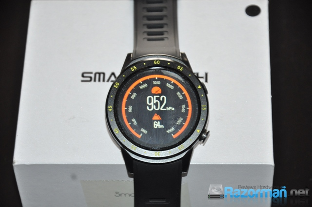 Review smartwatch Bakeey F1 18