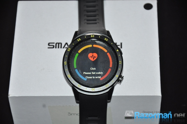 Review smartwatch Bakeey F1 19