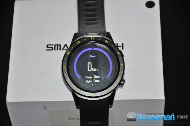 Review smartwatch Bakeey F1 20