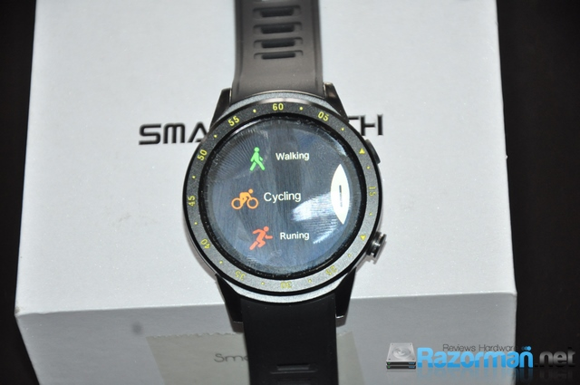 Review smartwatch Bakeey F1 22