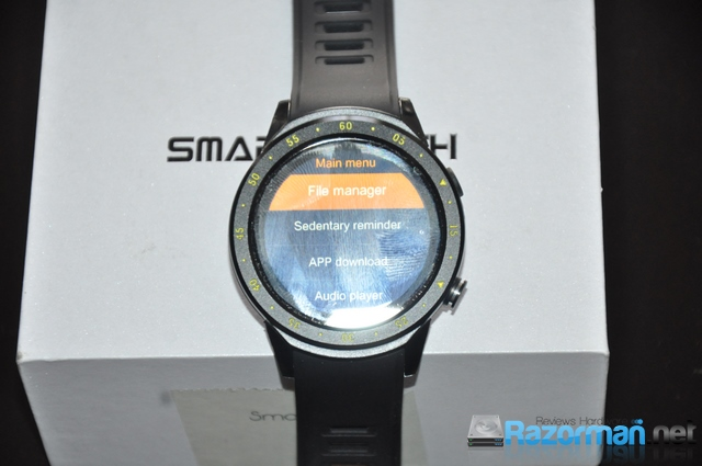 Review smartwatch Bakeey F1 26