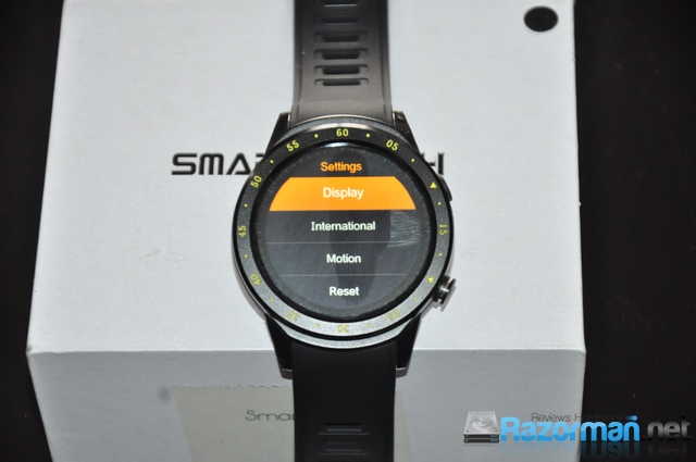 Review smartwatch Bakeey F1 29