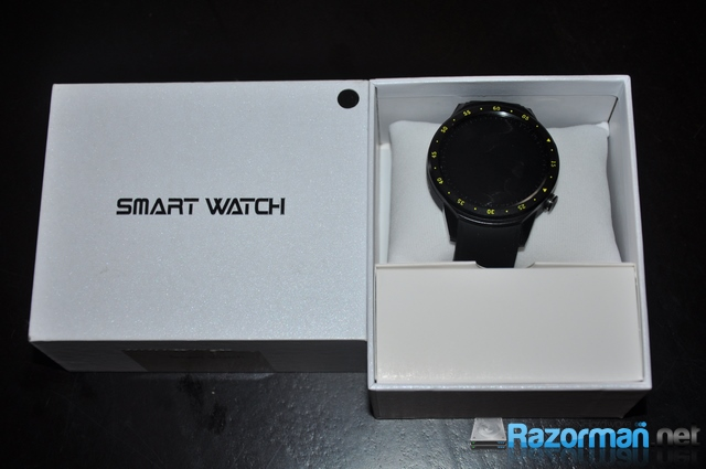 Review smartwatch Bakeey F1 6