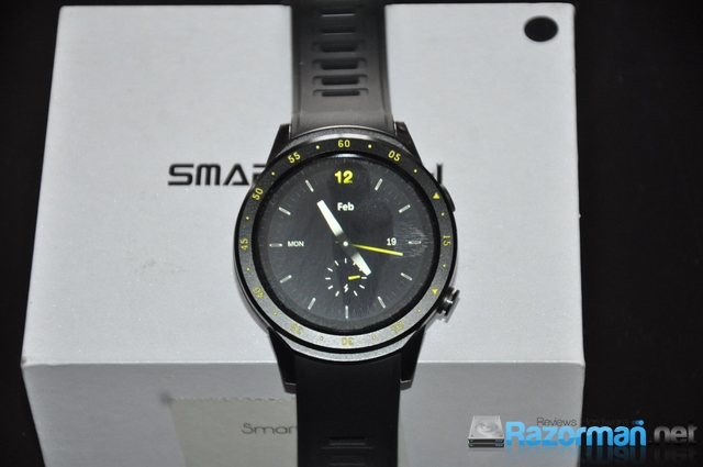 Review smartwatch Bakeey F1 14
