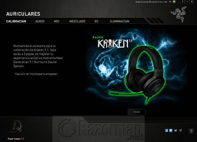 Software Razer Kraken 7 (1)